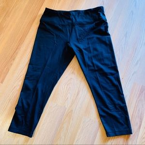 Black 90 Degree leggings by Reflex.